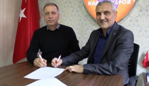 Kardemir Karabükspor'un yeni teknik direktörü