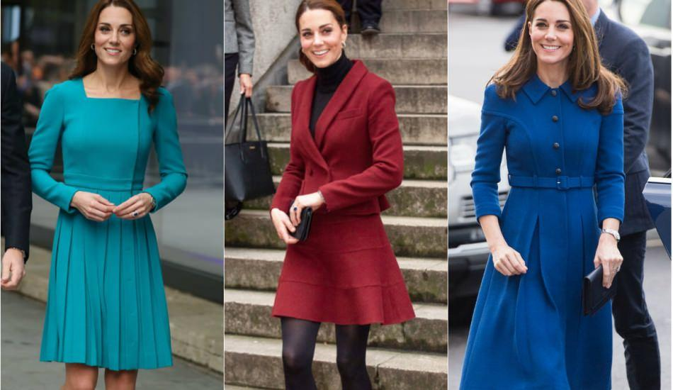 Kate Middleton'ın kıyafetlerine prenses dokunuşu!
