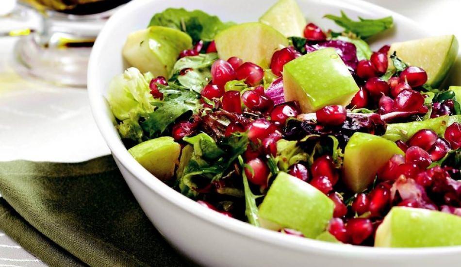 Narlı roka salatası tarifi