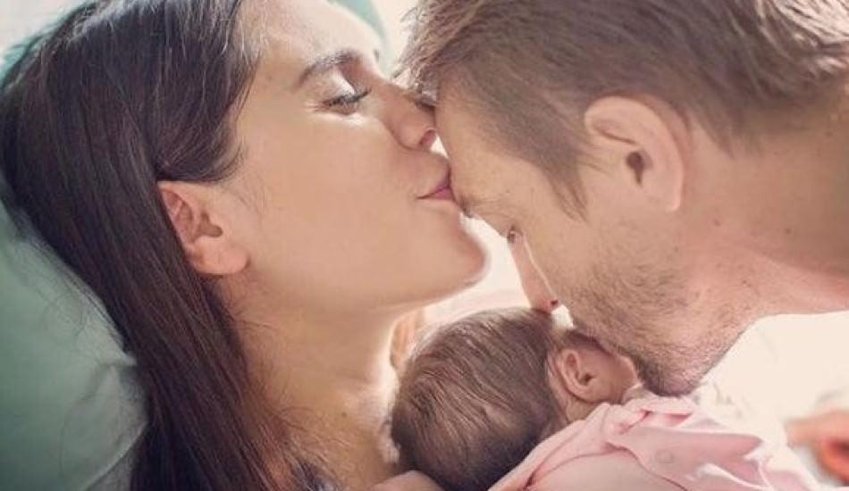 Şükran Ovalı 3 aylık olan kızını paylaştı