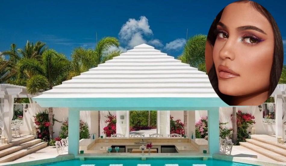 Ünlü yıldız Kylie Jenner'in lüks malikanesi