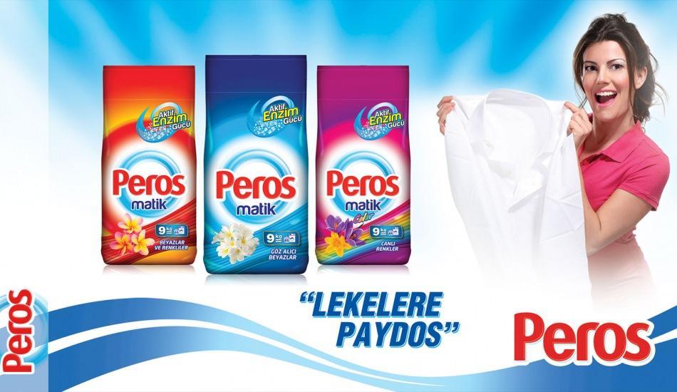"""Kadınların sıvı deterjan tercihi artık """"Peros"""""""