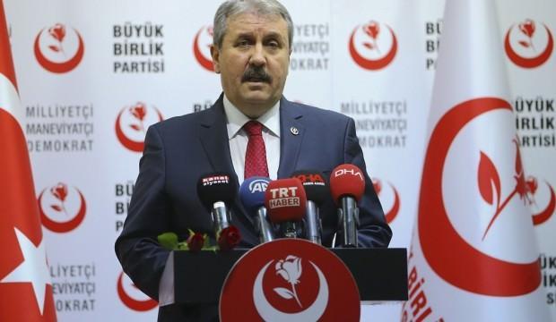 BBP'den Ankara ve İzmir kararı!