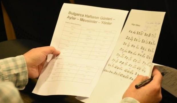 2 milyon Bulgar geldi, dil kursuna başladılar