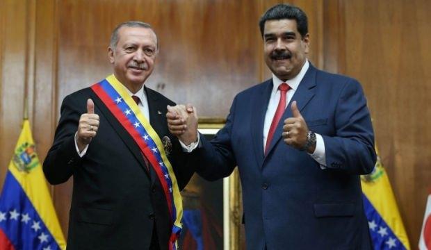 Erdoğan ve Maduro'nun dostluğu rekor getirdi!