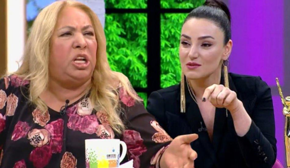 Sevcan Orhan'dan olay Dilber Ay taklidi!