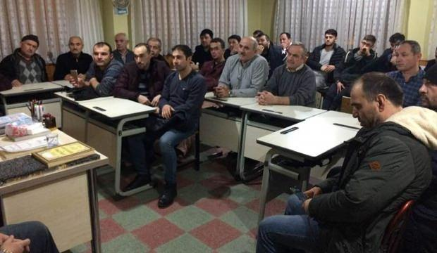 Nallıhan'da açılan Kur'an kursuna yoğun ilgi