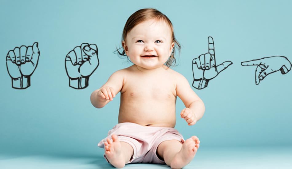 Bebeklerde konuşma geriliği! Konuşamayan bebeğe ne yapılmalı? Bebek işaret dilinin faydaları
