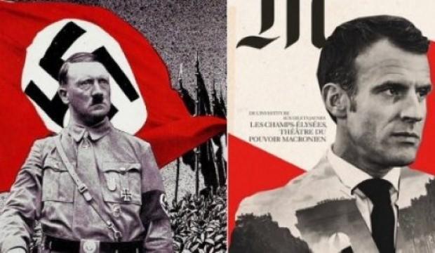Macron'u Hitler'e benzettiler - DÜNYA Haberleri