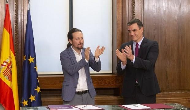İspanya'da bir ilk: Sol koalisyon hükümeti kurulması için anlaşma sağlandı