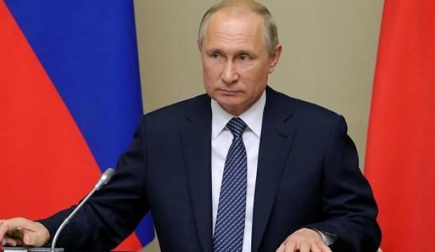 Putin'den Zelenskiy ve Ruhani'ye taziye!
