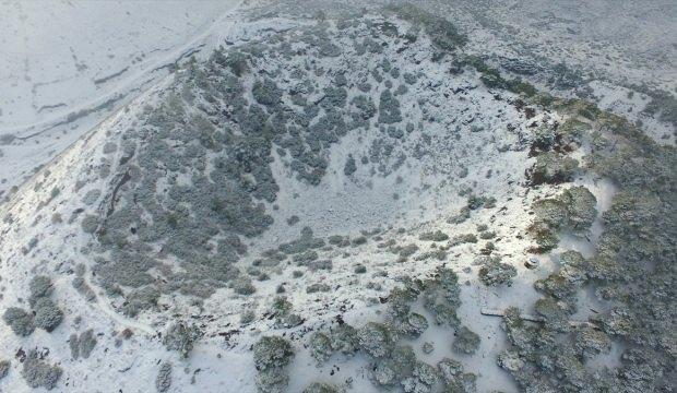 """""""Yanık Ülke""""nin kar altında görsel şöleni"""