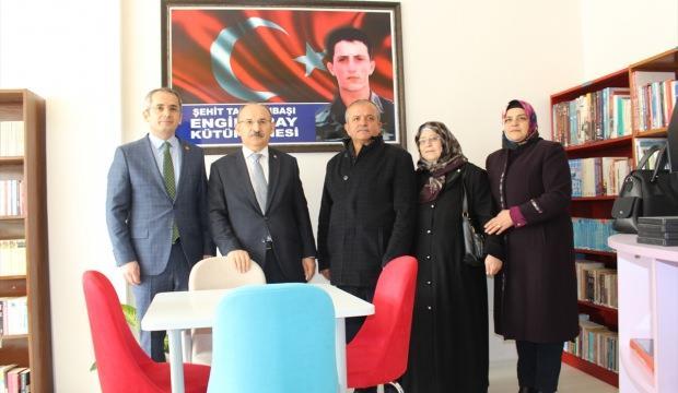 Tosya'da kütüphane açılışı yapıldı