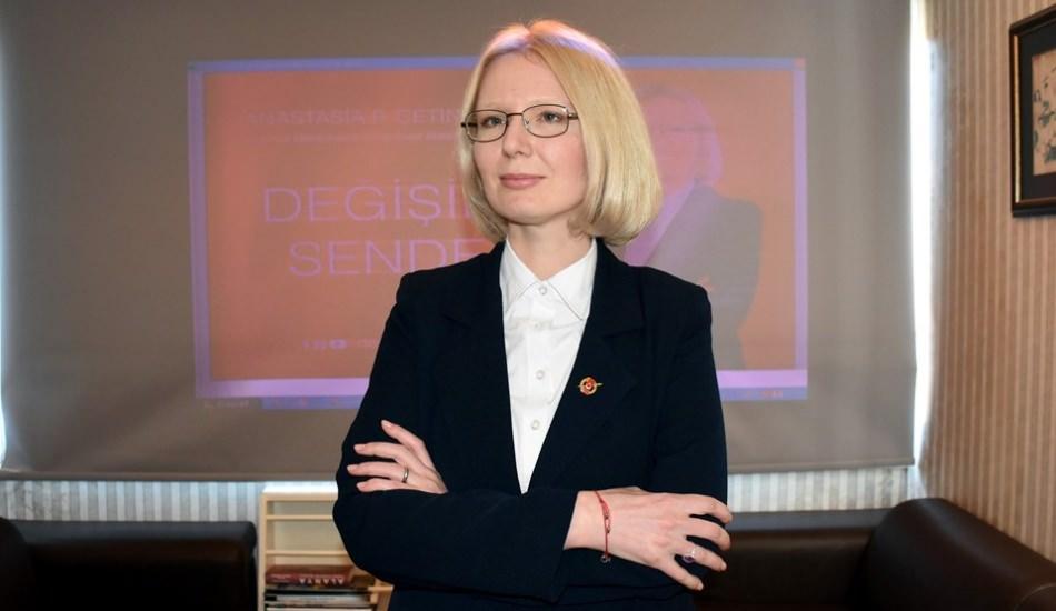 Rus asıllı kadın belediye başkan adayı oldu
