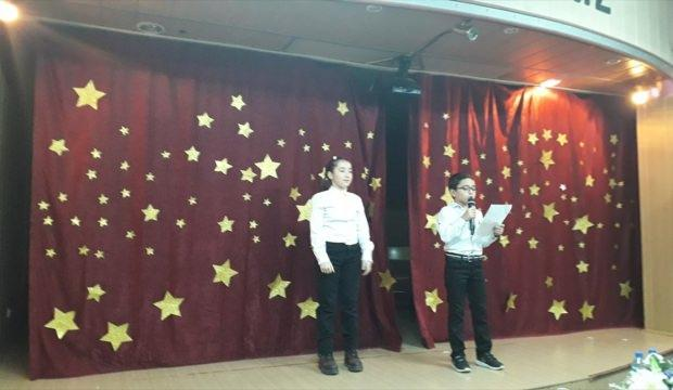 Doğankent'te öğrenciler tiyatro oyunu sahneledi