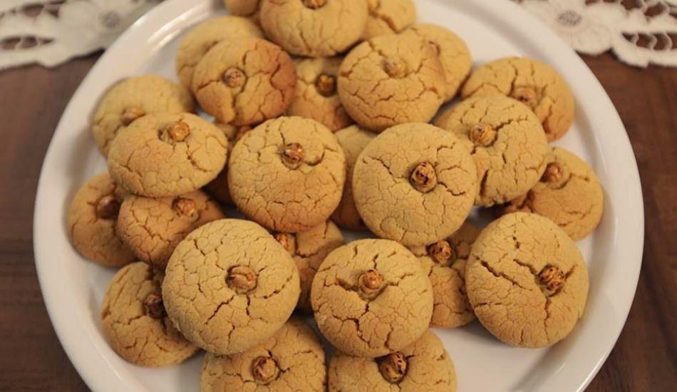 Pratik leblebili kurabiye tarifi