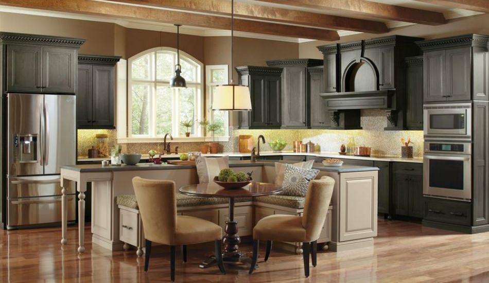 Mutfağınızda oturma alanı oluşturacak  dekorasyon önerileri