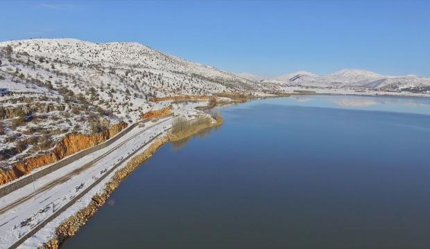 Gölbaşı Gölleri Tabiat Parkı kışın ayrı güzel