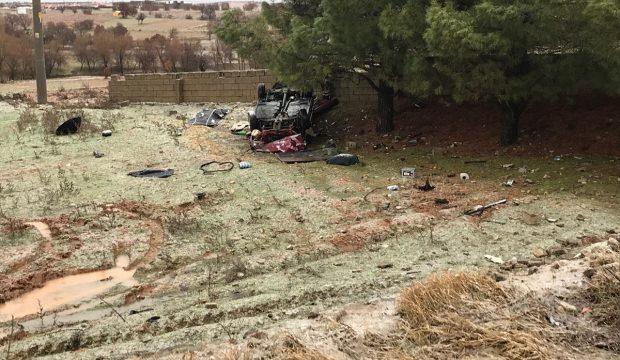 Çalıntı araçla kaza yapan sürücü hayatını kaybetti