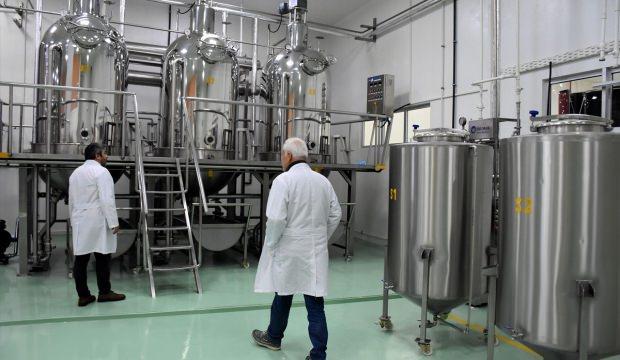 Gıda ve ilaç sanayiine etken madde üretiyorlar