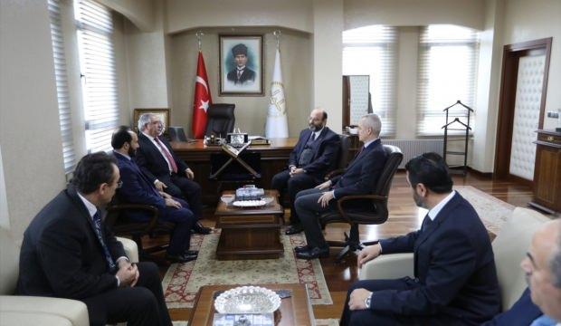 Sakarya Valisi Nayir, din görevlileriyle buluştu