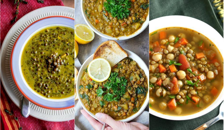 Nefis terbiyeli yeşil mercimek çorbası tarifi
