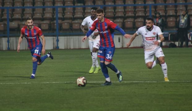 3 kırmızı kartlı maçta Hatayspor galip