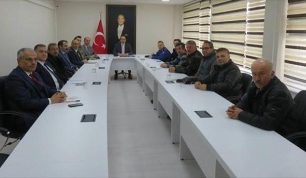 Merzifon'da av komisyonu toplantısı yapıldı