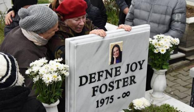 Defne Joy Foster'ın ölümünün 8. yılı anıldı