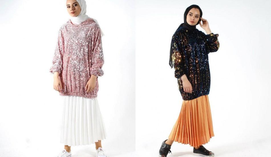 Payetli kıyafetlerle kombin önerileri