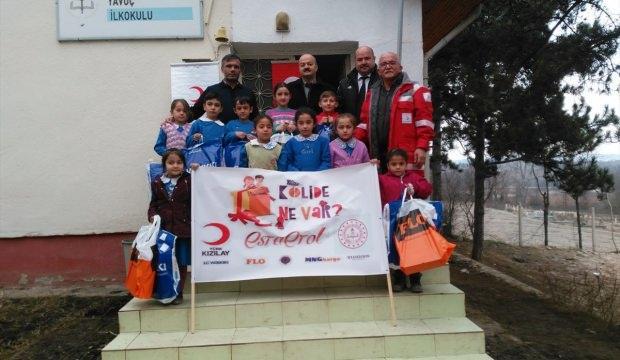"""Türk Kızılayının """"Kolide ne var?"""" yardım kampanyası"""