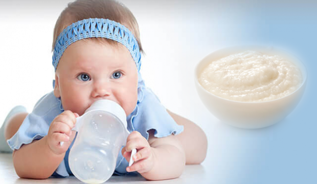 Bebek için kolay pirinç unlu muhallebi tarifi! Ek gıda döneminde bebek muhallebisi yapılışı