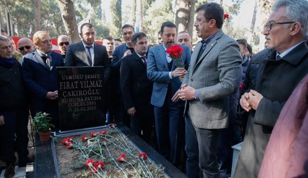 Üniversite öğrencisi Çakıroğlu mezarı başında anıldı