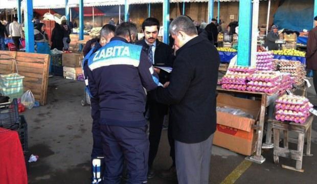 Bolu'da haksız fiyat artışları denetleniyor