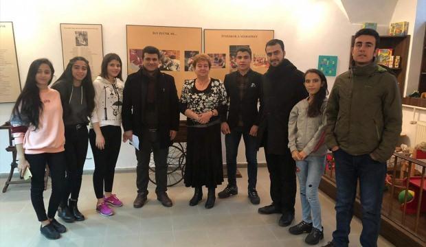 Siirtli öğrenciler Avrupa gezisinden döndü