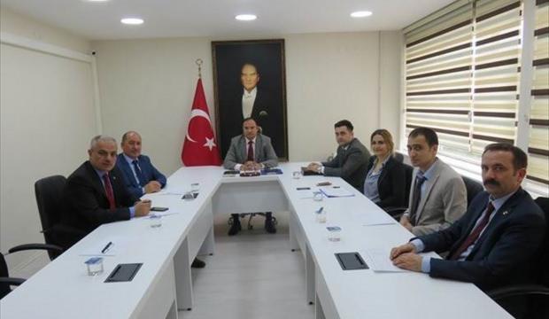 Merzifon'da İlçe İdare Kurulu Toplantısı yapıldı