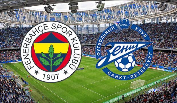 Fenerbahçe Zenit maçı ne zaman, saat kaçta ve hangi kanalda?