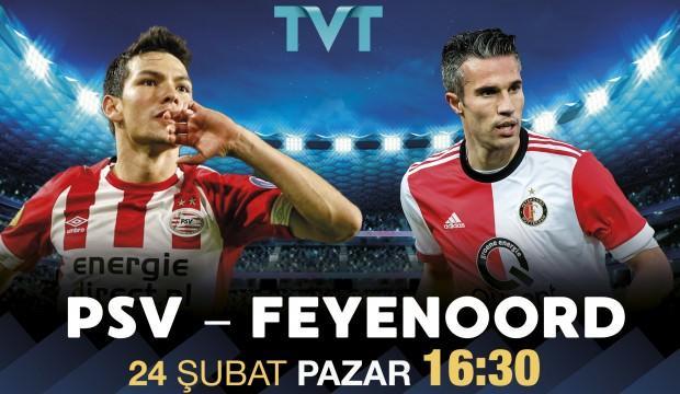 Hollanda'da haftanın maçını TVT yayınlıyor!