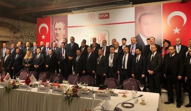 Bakan Ersoy ve RTÜK Başkanı Şahin, medya temsilcileriyle buluştu