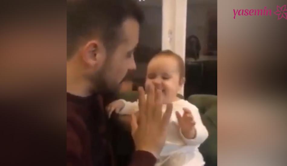 Ümit Erdim'in kızı Ses ile keyifli anları