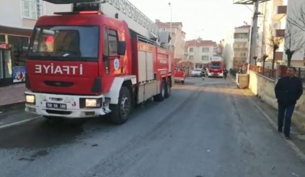 Yalnız bırakılan çocuk evi yaktı iddiası