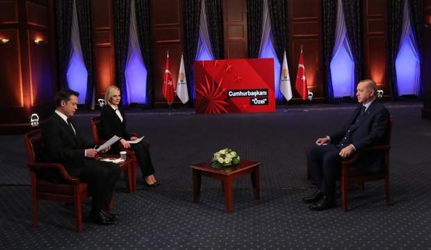 Erdoğan NTV-Star TV ortak yayınında soruları yanıtladı