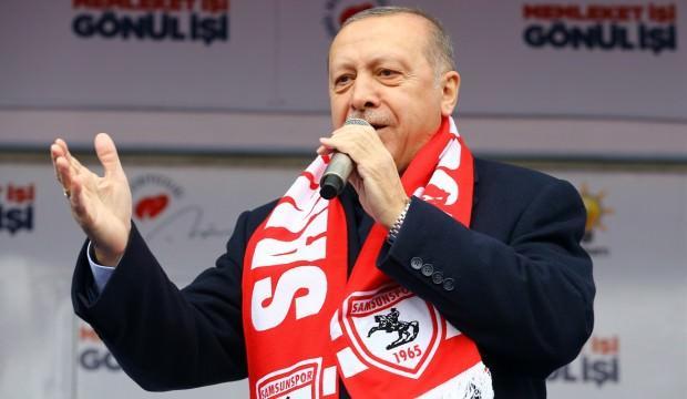 Erdoğan, Samsun'da art arda müjdeleri verdi