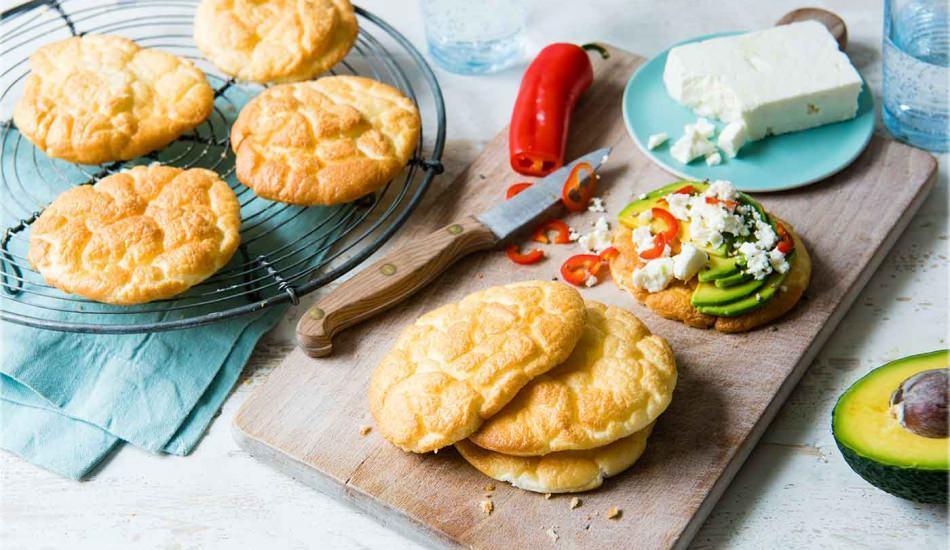 Pratik bulut ekmeği tarifi