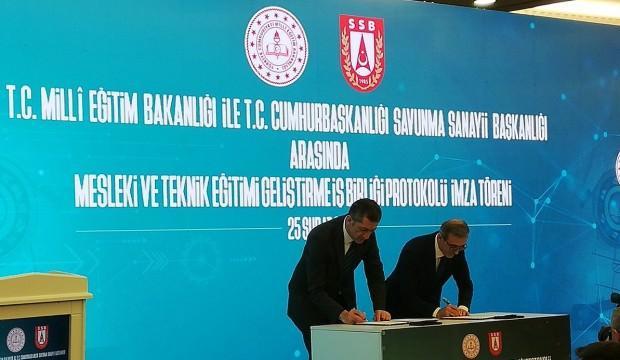 SSB ve MEB arasında önemli işbirliği!