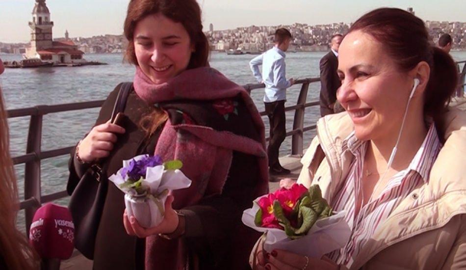 8 Mart Dünya Kadınlar Gününe özel video! Sizce kadın ne demek?