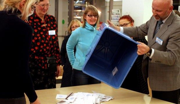 Estonya'da genel seçimin galibi Reform Partisi oldu!