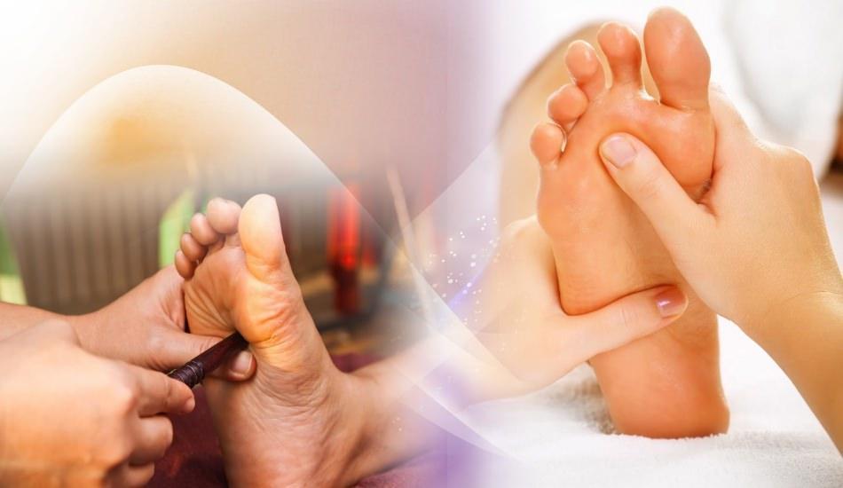 Vücutta masaj yapılacak yerler nerelerdir? Ayakta masaj yapılması gereken yer...