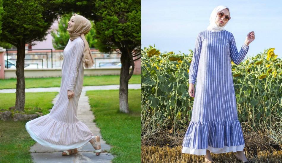 Sezonun trend elbise modelleri
