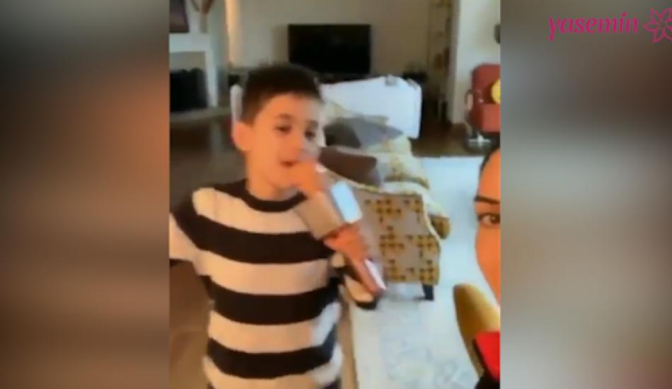 Cem Yılmaz'ın oğlu Kemal'dan dans şov!